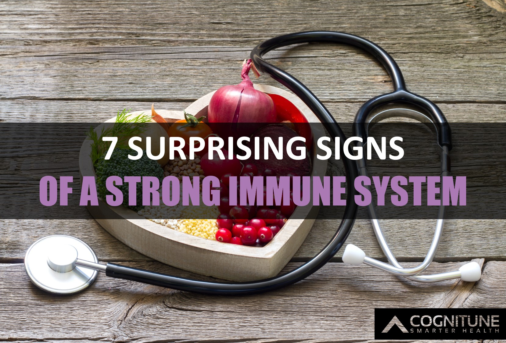 Seven surprising indicators of a healthy immune system